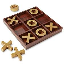 Wooden Board Games Uk American Vintage Style Jumbo Tictactoe Wooden Board Game Amazon 94