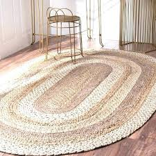 small jute rug natural fiber braided oval jute rug small rugs small grey jute rug