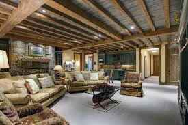 rustic finished basement ideas. Perfect Basement Rustic Finished Basement Ideas For I