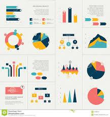 Info Graphics Set Stock Vector Illustration Of Graphs