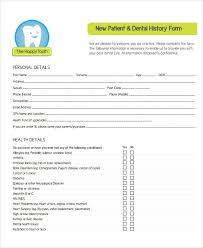 health history forms medical history form 9 free pdf documents download free