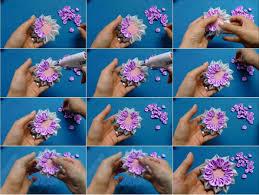 Paper Ribbon Flower Ribbon Flower Usefuldiy Com