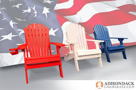 East Coast Chair & Barstool Shows f Patriotic Pride with Made in