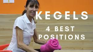 4 best positions to do kegel exercises