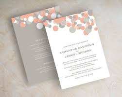 gray wedding invitations. best 25 grey wedding invitation sets ideas on pinterest furthermore templates coral and gray invitations d