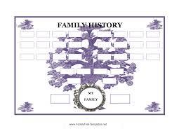 Popular Family Tree Templates At Allbusinesstemplates Com