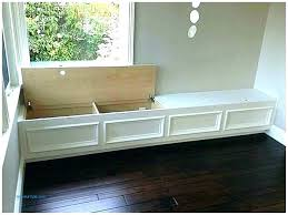 diy bench seat storage box corner seating with benches and nightstands l shaped be