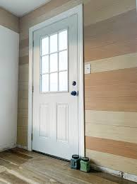how to paint a metal door to look like