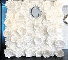 Paper Flower Backdrop Rental Paper Flower Wall Rental Or Paper Flower Backdrop For Rent