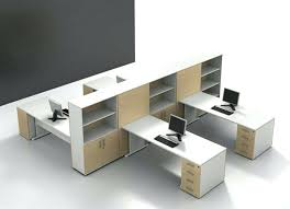 modern office cubicle. Modern Office Desk Ideas Cubicle Layout Design Spacious White Laminate Furniture With Open Rack Designs Home O