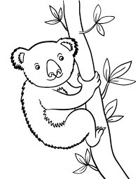 Small Picture Printable koala bear coloring page Free PDF download at http