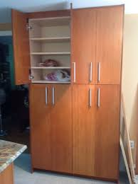 Tall Pantry Cabinet For Kitchen Tall Kitchen Pantry Cabinets Home Design Ideas