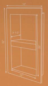 schluter systems 12 x 28 shower niche