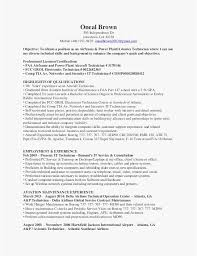 Maintenance Mechanic Resume Format Cover Letter For Maintenance