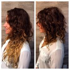 Long Curly Bob Hairstyles Saying Goodbye To Summer Ends Lob Curly Fallhair Hairstyles