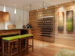 View in gallery Floor-to-ceiling glass walls employed in this cool  contemporary wine