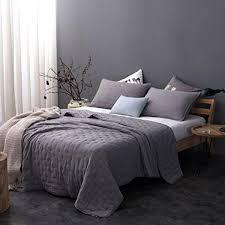 kasentex stone washed nostalgic design ultra soft washing able lightweight quilt pillow case twin full single