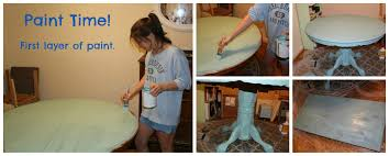 Chalk Paint Dining Room Table Chalk Paint Dining Room Table Gypsy Soul