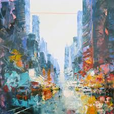 unique artwork new york city from the artist frédéric thiery urban style