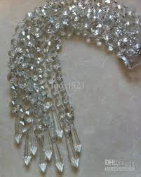 2018 curtain octagonal beads crystal strands not acrylic chandelier garlands chandelier lamps parts from luoxi521 79 4 dhgate com