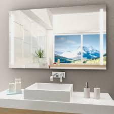 Badspiegel Mit Beleuchtung Hornbach Led Lichtspiegel Silver Venus