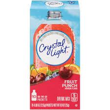 Sugar Free Crystal Light Nutrition Facts Galleon Crystal Light Sugar Free Fruit Punch Powdered