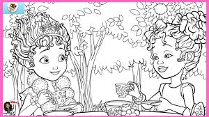 Disney sticker books & young adults' fiction books for children. Fancy Nancy Magic Coloring Pages Disney Junior Fancy Nancy Disney Now Color Splash Game Youtube