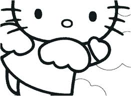 Hello Kitty Easter Coloring Pages To Print Free Hello Kitty Coloring