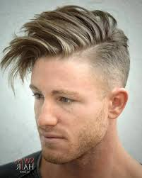 Hairstyles For Men To The Side One Side Haircut Men Best Thick Hair Hairstyles For Men 2016