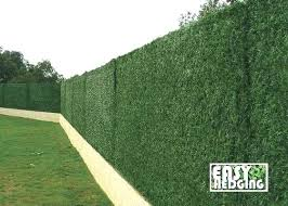 fake grass wall details about artificial conifer hedge fence garden wall privacy screening fake grass roll