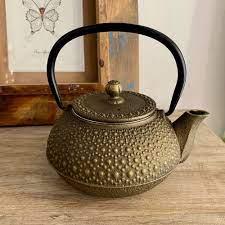 Bronze Cast Iron Japanese Teapot