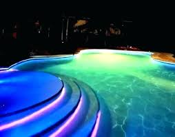 swimming pool lighting ideas. In Ground Pool Lighting Led Light And Lights  Swimming . Ideas