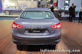 2018 maserati ghibli granlusso. beautiful maserati 2018 maserati ghibli granlusso rear showcased at iaa 2017 to maserati ghibli granlusso n