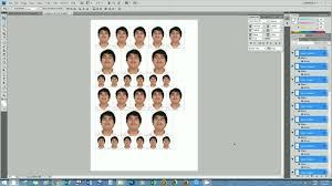 2x2 Passport Photo Template 2x2 Photo Size Ohye Mcpgroup Co