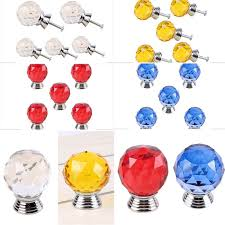details about 10pcs small crystal glass knobs pull handles cabinet cupboard drawer door bling