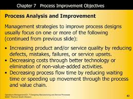 Management Strategies To Improve Process Designs Of Services Focus On An Integrated Goods And Services Approach Ppt Download