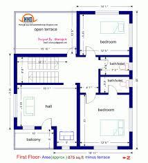 floor plan and elevation of sqfeet villa kerala home design simple