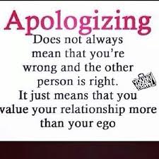 Apology Quotes - Quotation Inspiration