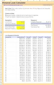 Repayment Schedule Template Interest Only Amortization Schedule