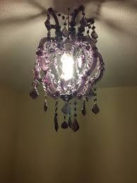 next purple chandelier light shade