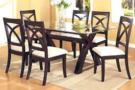 enjoyable design gl dining room sets for 4 round table chairs cal top set