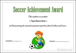 soccer awards templates soccer award certificate template soccer award certificate