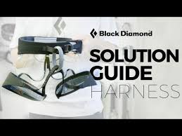 Black Diamond Momentum Harness Size Chart Black Diamond Solution Guide New Climbing Harness For 2019