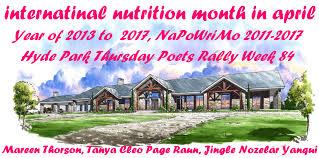 Image result for international nutrition month