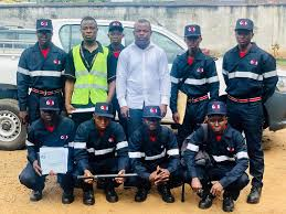 Security Personnel Slfa Received Six Security Personnel From G4s To Strengthen