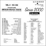 Overture: American Musical Theatre, Vol. 3 (1946-1952)