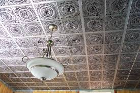 how to install plastic ceiling tiles