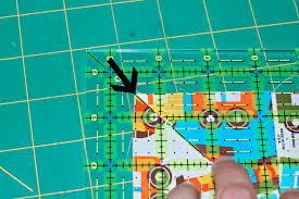 How to Square Up a Quilt Block (Beginner Sewing Series) & Here's a view of the entire square. You're also going to try to line up the  sides of your quilt square with the 5.5″ line on the ruler. Adamdwight.com