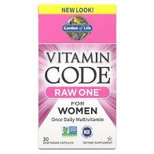 <b>Vitamin Code Raw One</b> for Women | Garden of Life