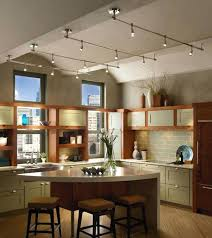 track lighting sloped ceiling adapter angled kitchen fixtures how to install on vaulted